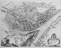 Vue de Namur, 1646, gravure