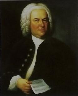 BACH par E.G.Haussmann 1746