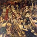6 Henry de Groux, Le Christ aux outrages, 1889, huile sur toile, 293 x 353 cm. Ville d'Avignon - Palais du Roure – Fondation Flandreysy-Espérandieu, inv. 2PDR_F_OAO15