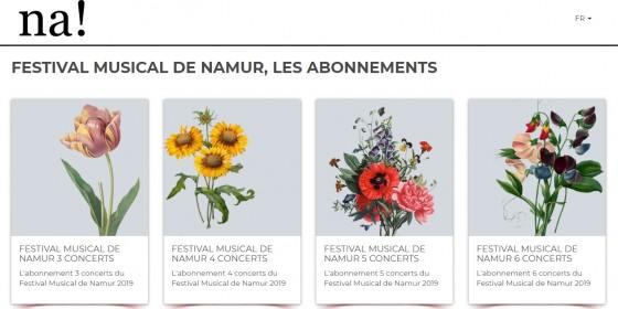 Festival Musical de Namur 2019