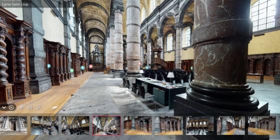Visite virtuelle de l'église