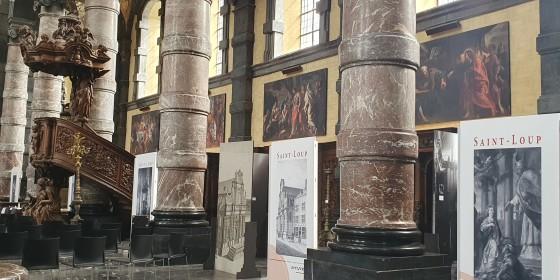 EXPOSITION Eglise St-Loup 1621-2021. 400 ans de la vie d'un patrimoine